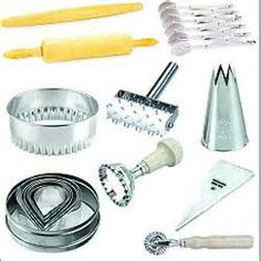 Equipment For Cake Design : 1000+ images about Baking tools on Pinterest Baking tools, Decorating tools and Tools