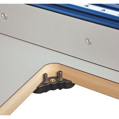 Precision router table insert plate predrilled for triton routers features 8 adjustable points of contact 4 corner lock downs and locating tabs keyboard keysfo Choice Image