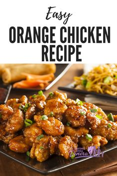 Easy Orange Chicken Recipe – Saving You Dinero No need to go out to enjoy this popular take out dinner recipe. You can make this recipe for Easy Orange Chicken at home! It pairs perfectly with a side of fried rice. The sauce is so yummy. Chinese Orange Chicken, Baked Orange Chicken, Orange Chicken Sauce, Healthy Orange Chicken, No Fry Orange Chicken Recipe, Home Made Orange Chicken, Crockpot Orange Chicken, Orange Marmalade Chicken, Baked Chicken