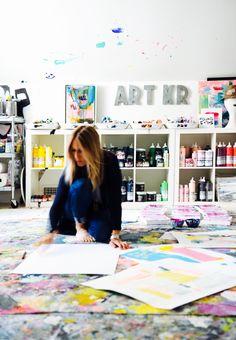 Artist Kerri Rosenthal
