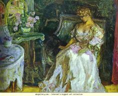 Pierre Bonnard. Misia Godebska, the daughter of Polish emigrant sculptor Cyprien Godebski, initially performed as a pianist. After marrying Thadée Natanson, the editor of La Revue blanche, she hosted a literary-artistic salon – Mallarmé, Debussy, Renoir, as well as young Nabi painters such as Vuillard, Félix Vallotton and Bonnard were among her guests. After Natanson was almost bankrupt, the newspaper magnate Alfred Edwards saved him, on condition that he surrender his wife.