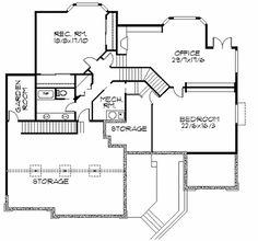 Plan 85003MS: Frank Lloyd Wright-Inspired Home Plan | Frank lloyd ...