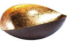 Coupe Kare Design Goldfinger Leaf 39cm, deco design KARE DESIGN