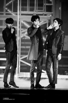 EXO Monster Trio