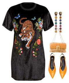"""""""Tigers and Butterflies"""" by easy-dressing ❤ liked on Polyvore featuring Gucci"""