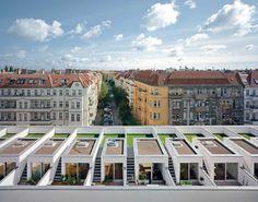 Wohnanlage Zeltnerstraße Berlin zanderroth architekten