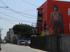 Jim Morrison mural - Venice