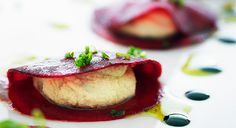 GreenChef Chad Sarno | Raw Beetroot Ravioli « G Living | Dark Twisted Space Monkies Go Green