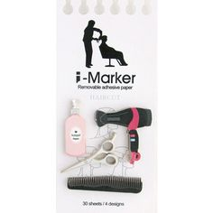 Hair Designer - i-Marker Sticky Notes / Post-it / Memo Paper
