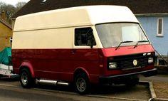 Porsche, Audi, Vw Modelle, Vw Lt, Volkswagen Type 2, Campervan Ideas, Vintage Ice Cream, Cool Vans, Vw Camper