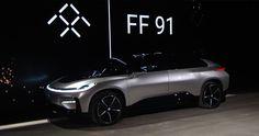 Faraday FF 91 debut en el CES Las Vegas 2017 - http://autoproyecto.com/2017/01/faraday-ff-91-ces-las-vegas-2017.html?utm_source=PN&utm_medium=Pinterest+AP&utm_campaign=SNAP