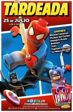 Durante el verano, ¡también hay fiesta para los niños!  ¡No te pierdas el próximo 25 de julio nuestra tardeada en #Cancún! +info: http://on.fb.me/1zNca0W