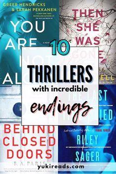 Best Suspense Books, Good Thriller Books, Best Mystery Books, Murder Mystery Books, Best Fiction Books, Best Thriller Novels, Best Crime Novels, Murder Mysteries, Great Books To Read