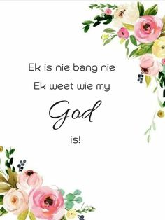 Bible Verses Quotes, Jesus Quotes, Birthday Qoutes, Goeie Nag, Afrikaans Quotes, Heavenly Father, True Words, God, Prayers