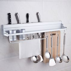Find More Racks & Holders Information about Space Save Kitchen Cookware Racks Stainless Steel Kitchen Storage Holders Racks With Double Cup&8 Hooks,High Quality cookware aluminum,China cookware camping Suppliers, Cheap rack design from Ali-Home Trading Store on Aliexpress.com