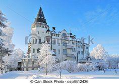 Zbiory Zdjęć - Finlandia, Imatra, Zima  - zbiory obrazów, obrazy, fotografie royalty free, zbiory fotografii, zbiory zdjęć, zbiór fotografii, obrazy, zdjęcia, grafika, grafiki