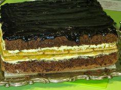Majkine rezy: Najlepší jablkový zákusok s krémom a sušienkami – skúste raz a určite ho nebudete robiť len na oslavu! Cake, Pie Cake, Pie, Cakes, Cookie