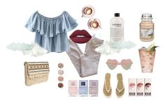Clouds by icatchurdream on Polyvore featuring мода, Chicnova Fashion, Joie, H&M, Skemo, River Island, Lime Crime, philosophy, Nails Inc. and Yankee Candle