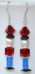 Are you preparing for upcoming holiday craft fairs and shows? We've got lots of great design ideas on our Holiday Idea Page, like these cute new Swarovski crystal toy soldier earrings! Check the Idea Page for photos and supply lists. http://www.bestbuybeads.com/ideapage2.asp