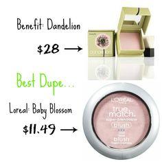benefit dandelion dupe