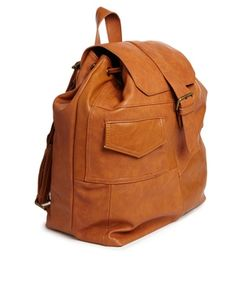 Pull&Bear Patchwork Backpack