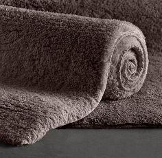 Plush Pile Bath Rug Bathroom Decoration Ideas Pinterest Bath - Soft bathroom rugs for bathroom decorating ideas
