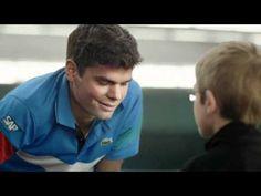 Funniest thing in a while:  Kids take down a Tennis Superstar.    Tennis Canada Kids' Tennis Public Service Announcement