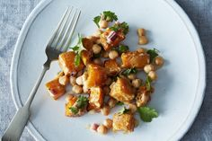 butternut squash salad with tahini dressing