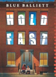 Lexile:  780.  Hold Fast. Blue Balliett.   the story of a girl who falls into Chicago's shelter system, and from there must solve the mystery of her father's strange disappearance.