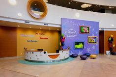 reception desk for children's play area - Google Search