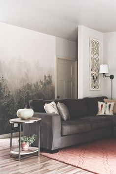 Into The Woodlands Square Wall Mural Bedroom Wallpaper