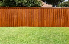 Staining a deck or fence with semi transparent stain or semi opaque stain. Use an airless sprayer for the best results.