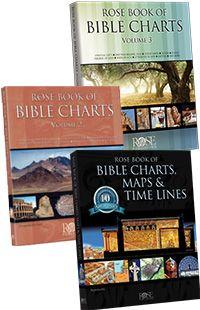 Bundle Sale! Rose Book of Chart Series, Volumes 1-3 - Rose Publishing