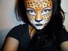 Cheetah #facepainting #facepaint