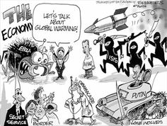 View political cartoons for the day and week featuring the latest trending news in elections, politics, and culture. Conservative satire, humor, and jokes from today's best political cartoonists. Political Satire, Political Cartoons, Funny Politics, Political Issues, Satirical Cartoons, Friday Images, Le Pilates, Holy Roman Empire, Barack Obama
