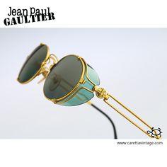 Steampunk goggles sunglasses men, Jean Paul Gaultier Vintage gold oval side shields sunglasses women, NOS Steampunk Glasses, Steampunk Goggles, Jean Paul Gaultier, Mens Tactical Pants, Mirrored Sunglasses, Sunglasses Women, Handbags Michael Kors, Lv Handbags, African Men Fashion