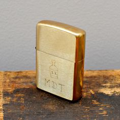 Hand-Engraved Zippo Lighter by Cool Material