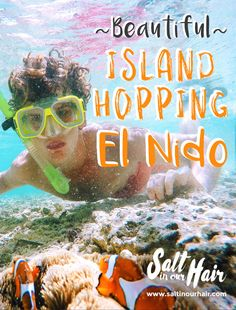 Beautiful Island Hopping in El Nido, Palawan