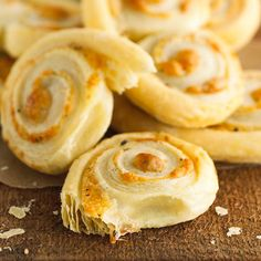 Parmesan Pastry Spirals