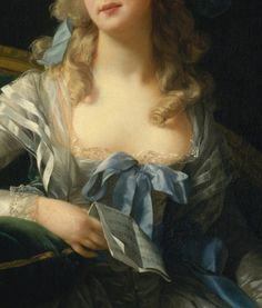 detail - Louise Élisabeth Vigée Le Brun: Madame Grande