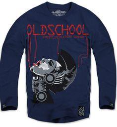 $19 New Authentic Oldschool Men's Long Sleeve Tshirt Sz M L XL Blue   eBay Graphic Sweatshirt, T Shirt, Old School, Men's Fashion, Sweatshirts, Long Sleeve, Sleeves, Sweaters, Blue