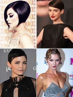 Short Party Hairstyles 2013 for Women top left please