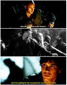 It just makes sense || The 100 season 2 episode 9 - Remember me || Bellamy Blake and Clarke Griffin || Lincoln, Octavia || Bob Morley, Eliza Jane Taylor, Ricky Whittle, Marie Avgeropoulos || Bellarke