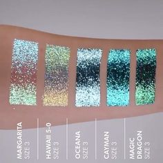 Iridescent glitter holographic makeup #mermaid #sparkly  @LitCosmetics