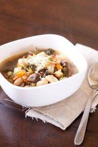 White-bean-veggie-soup