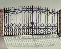 Entrance Gates - Old Castle (Stuttgart)14th Cen Germany - 1354WI ; Scottsdale Art Factory