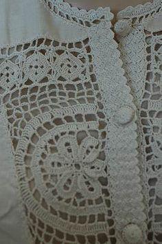 вязаное + ткань