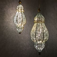 Beautiful lanterns from Good Earth in India. My knitting nook is complete! www.goodearth.in