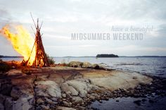 Midsummer fire and water
