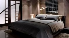 Read tips on how to sex up your bachelor pad Bedroom Setup, Dream Bedroom, Master Bedroom, Bedroom Decor, Bedroom Ideas, Office Interior Design, Office Interiors, Bachelor Pad Bedroom, Bachelor Pads